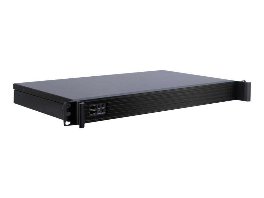 Inter-Tech K-126L - Rack-Montage - 1U - Mini-ITX - ohne Netzteil (FlexATX)