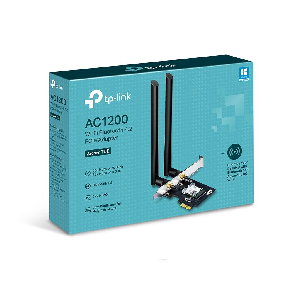 TP-LINK Archer T5E - Netzwerkadapter - PCIe - Bluetooth 4.0