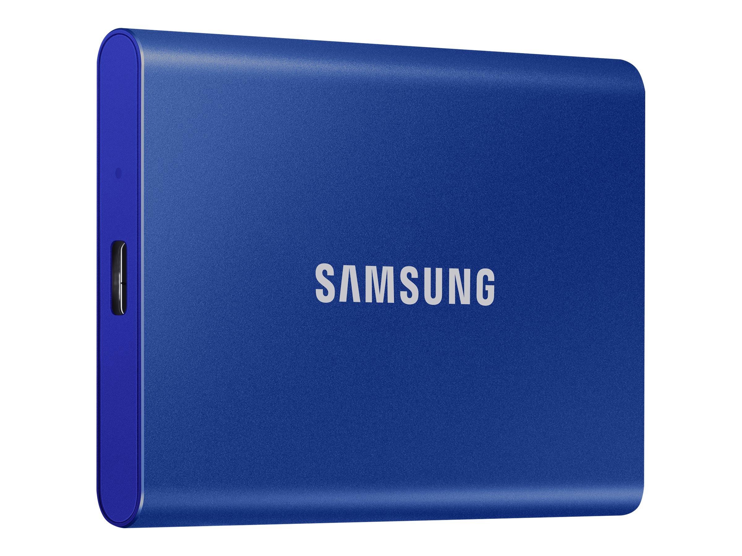 Samsung Portable SSD T7 MU-PC2T0H - 2 TB SSD - extern (tragbar)