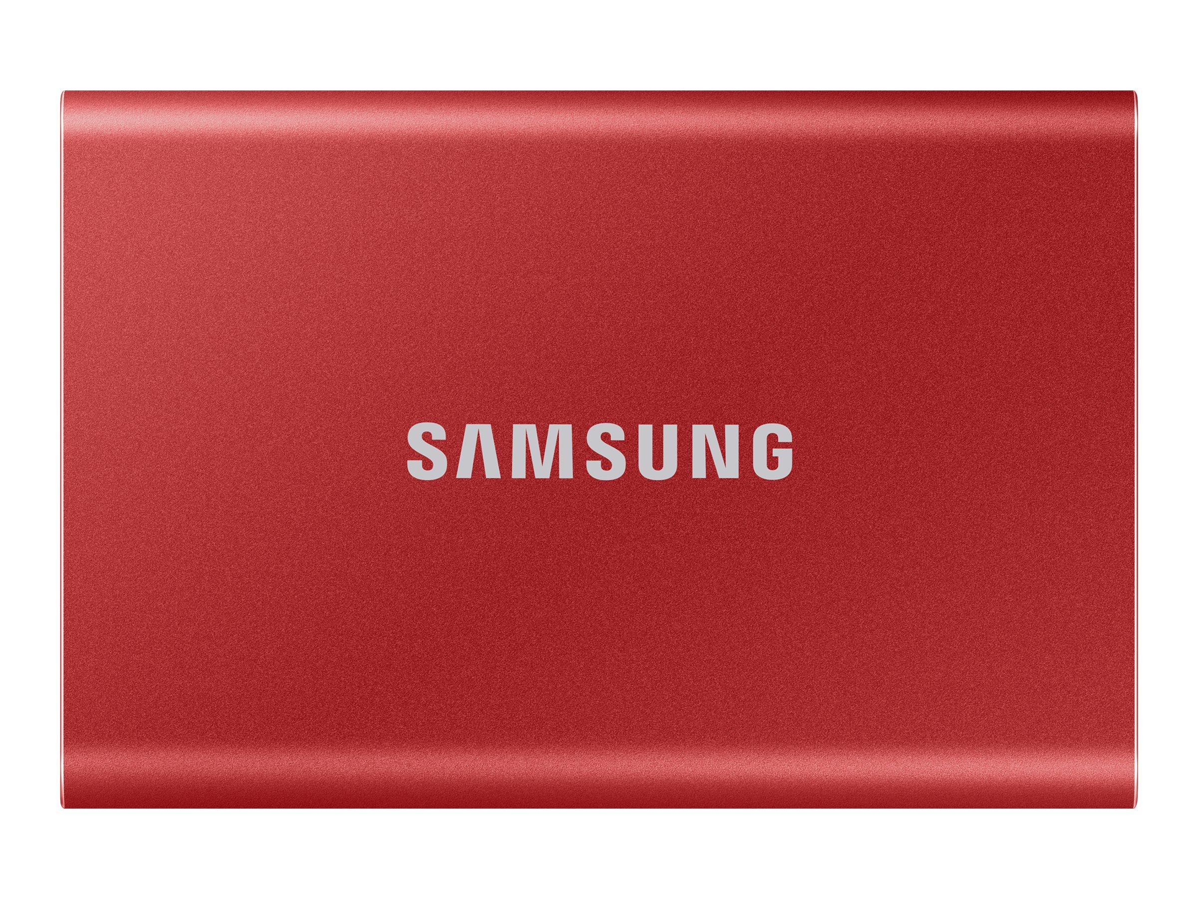 Samsung Portable SSD T7 MU-PC1T0R - 1 TB SSD - extern (tragbar)