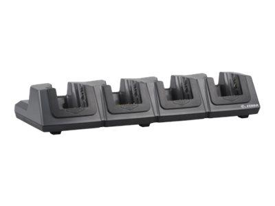 Zebra 4 Slot Ethernet/Charging Cradle - Docking Cradle (Anschlußstand)