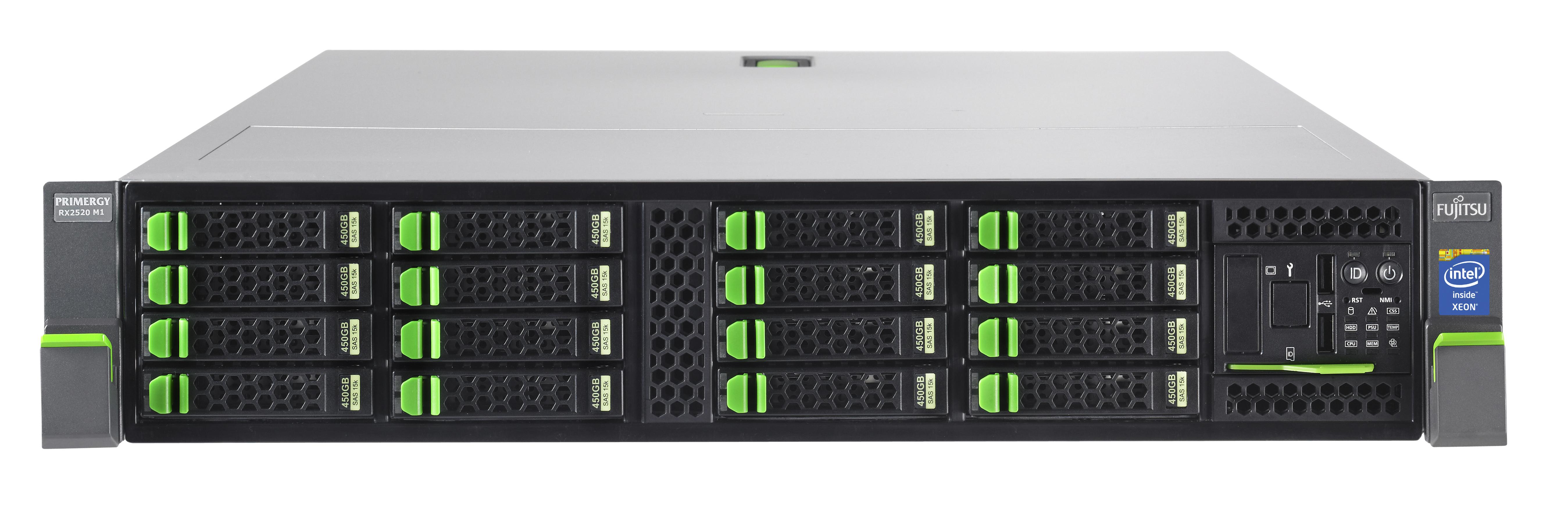 Fujitsu PRIMERGY RX2520 M1 2.5GHz E5-2430V2 450W Rack (2U) Server