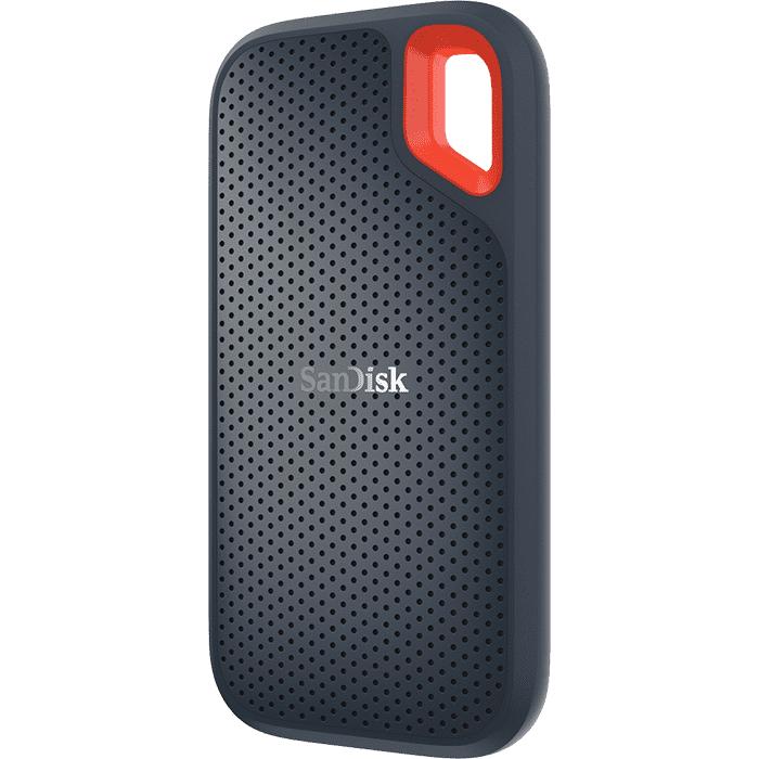 SanDisk Extreme - 1000 GB - USB Typ-C - 3.2 Gen 2 (3.1 Gen 2) - 550 MB/s - Passwortschutz - Grau - Orange