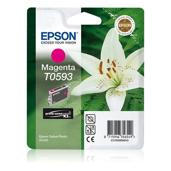 Epson-C13T05934020-Lily-Singlepack-Magenta-T0593-Ultra-Chrome-K3-Original