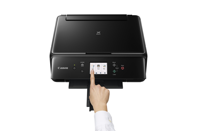 Canon PIXMA TS6050 4800 x 1200DPI Tintenstrahl A4 15Seiten pro Minute WLAN Schwarz Multifunktionsgerät