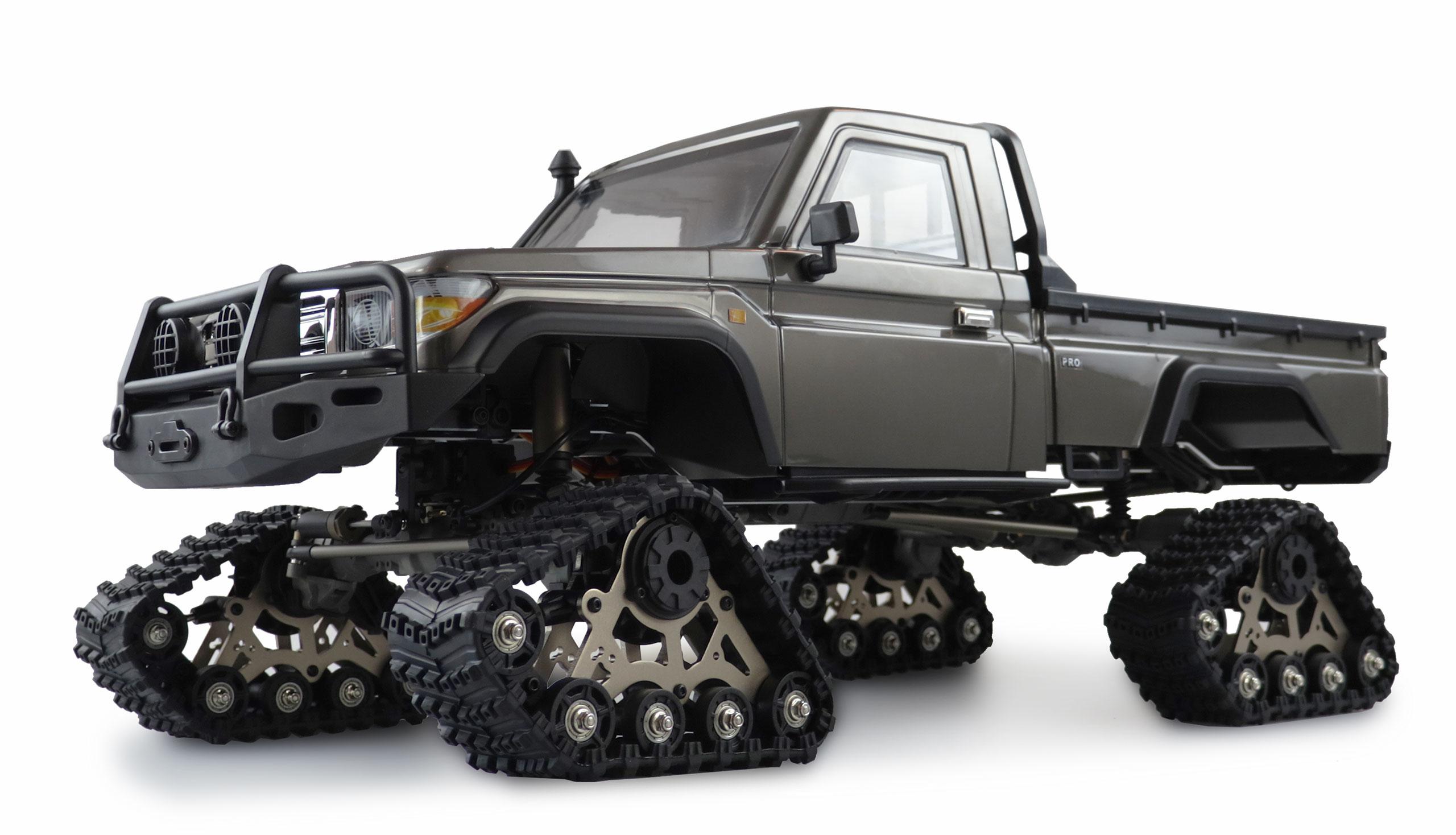 Amewi AMXROCK RCX8PT - Off-Road-Wagen - Elektromotor - 1:8 - Fahrbereit (RTD) - Grau - Metall