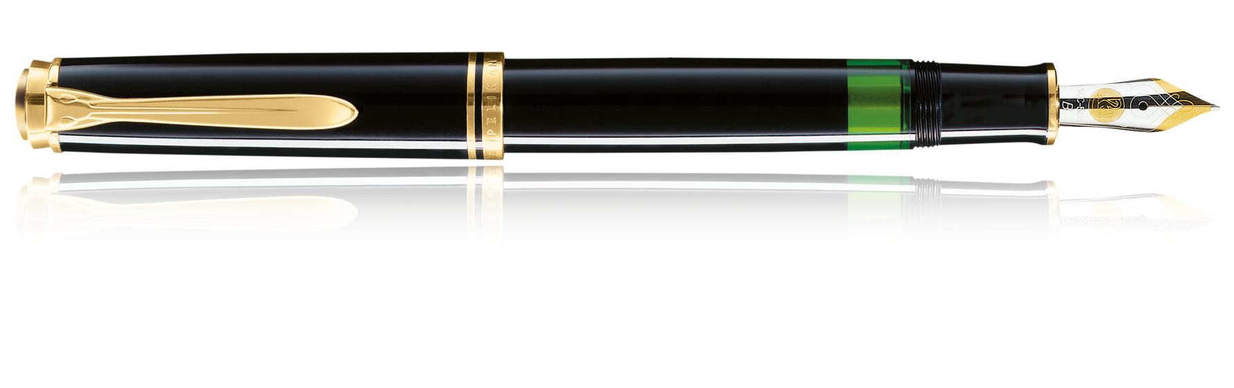 Pelikan Souverän M600 - Schwarz - Gold - Blau - Gold - 1 Stück(e)
