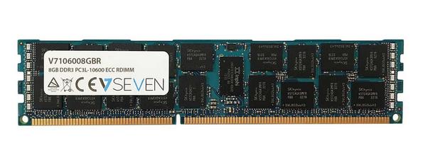 V7 8GB DDR3 PC3-10600 - 1333mhz SERVER ECC REG Server Arbeitsspeicher Modul - V7106008GBR Speichermodul