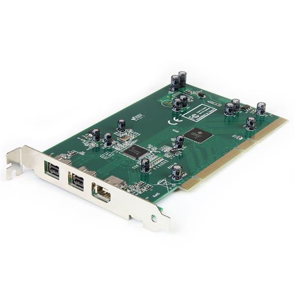 StarTech.com 3-Port-2b 1a PCI 1394b-FireWire-Adapter Karte mit DV-Schnittprogramm