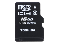 High Speed M102 - Flash-Speicherkarte (microSDHC/SD-Adapter inbegriffen) - 16 GB
