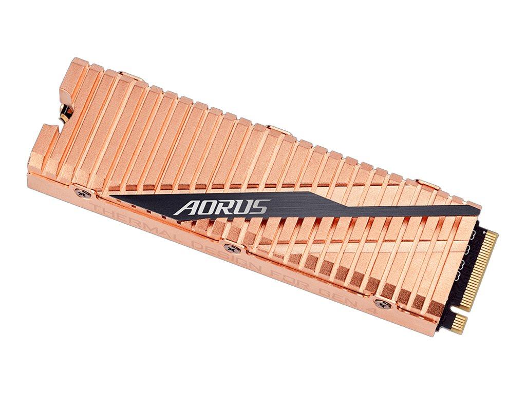 Gigabyte AORUS - 2000 GB SSD - intern - M.2 2280 - PCI Express 4.0 x4 (NVMe)