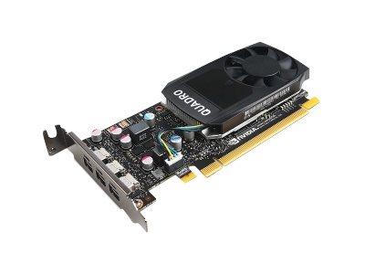Lenovo NVIDIA Quadro P400 - Grafikkarten - Quadro P400 - 2 GB GDDR5 Low-Profile - 3 x Mini DisplayPort - für ThinkStation P320 30BJ (SFF)