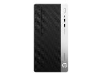 ProDesk 400 G5 3,6 GHz Intel® Core i3 der achten Generation i3-8100 Schwarz - Silber SFF PC