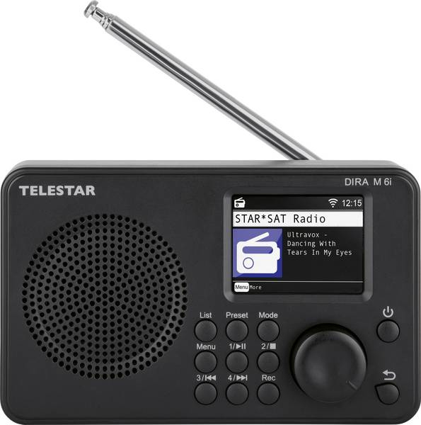 Vorschau: Telestar DIRA M 6i - Internet - Analog & Digital - DAB+,FM - 4 W - 4,57 cm - TFT-LCD
