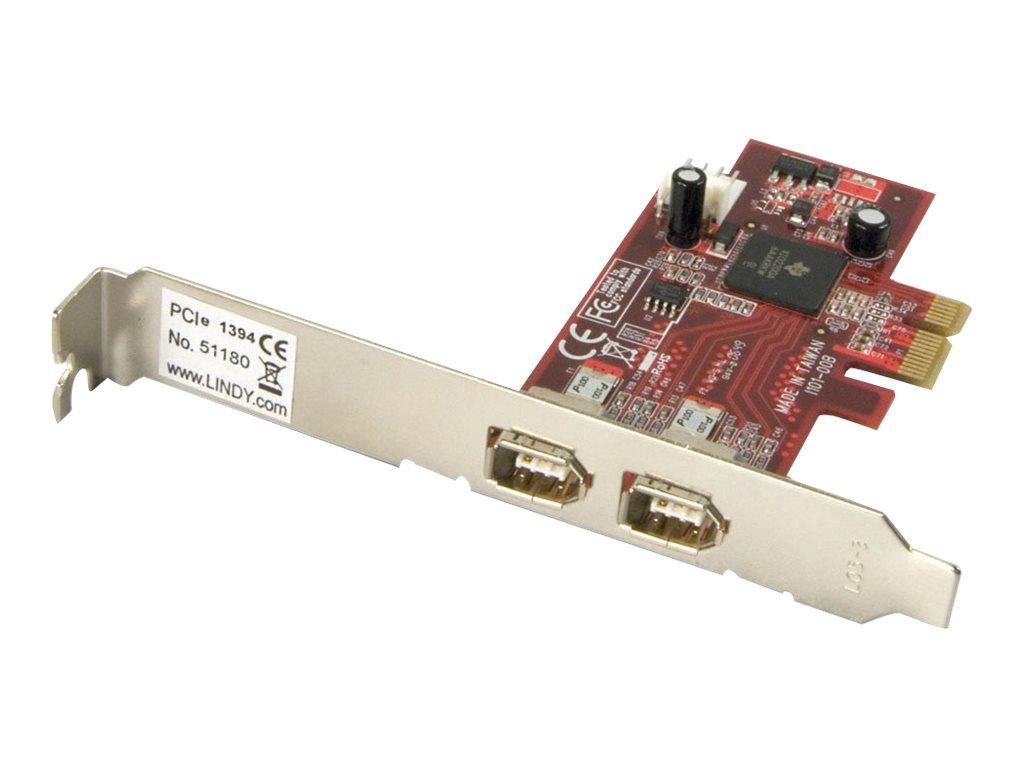 Lindy FireWire Card - FireWire-Adapter - PCIe