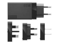 65W USB-C Travel Adapter - Netzteil - Wechselstrom 100-240 V