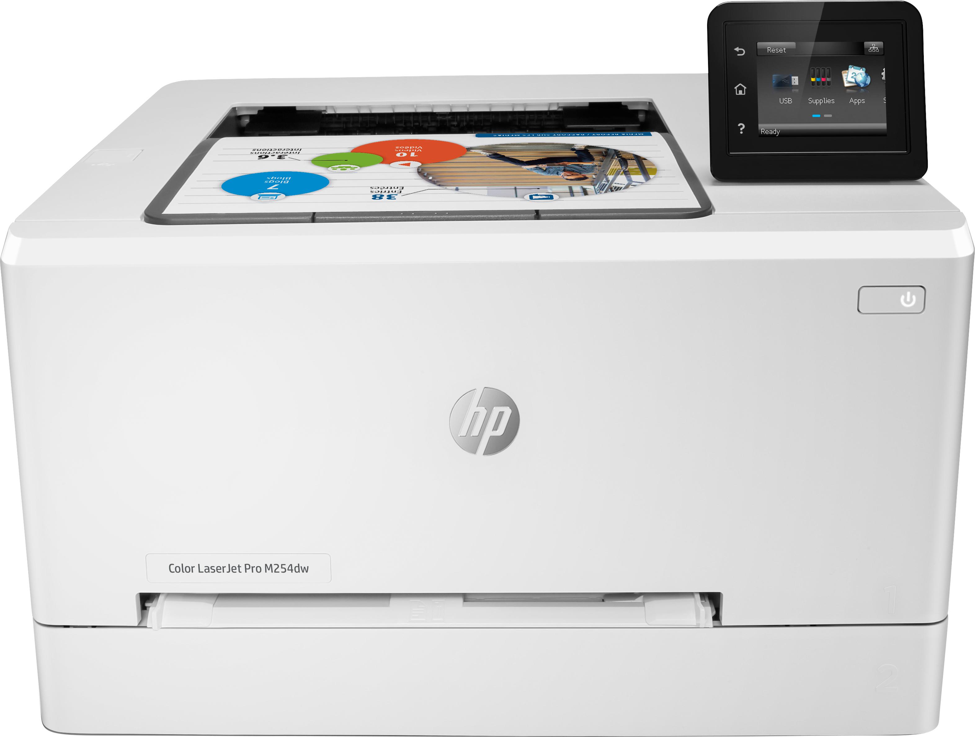 HP Color LaserJet Pro M254dw, Farblaser, A4