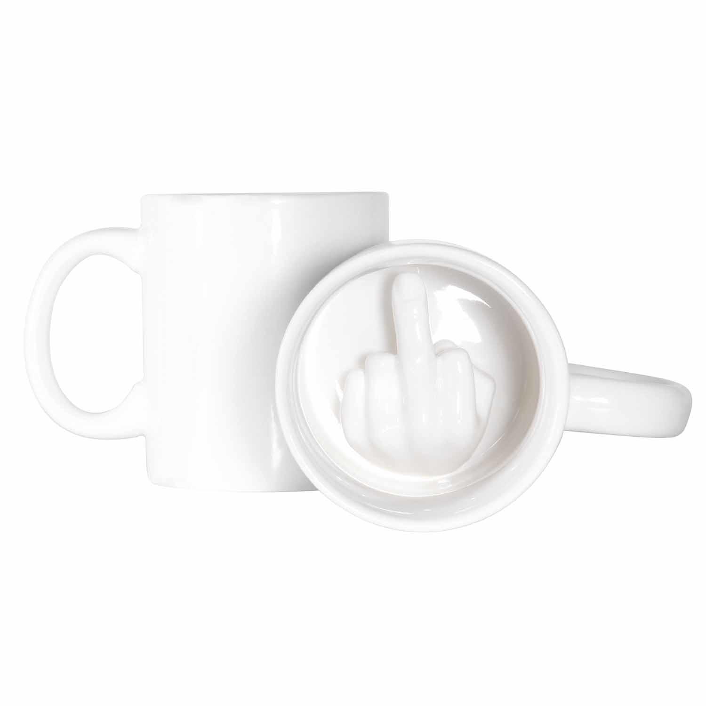 Thumbs Up 0001218 - Eins/Eine(r) - Weiß - Keramik - Universal - 1 Stück(e) - 8,5 cm