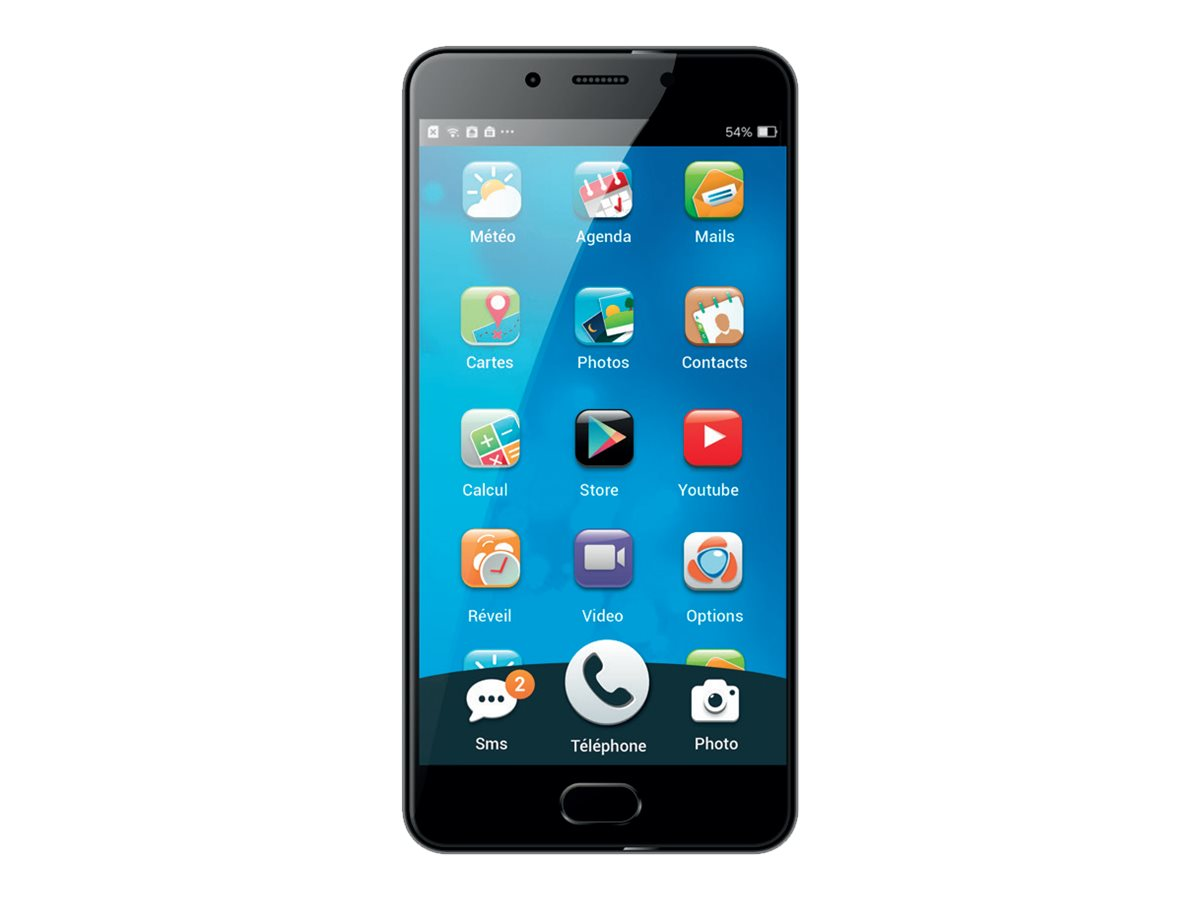 "Ordissimo Smartphone - 4G LTE - 32 GB - GSM - 5.5"" - 1920 x 1080 Pixel - RAM 3 GB - 13 MP (8 MP Vorderkamera)"