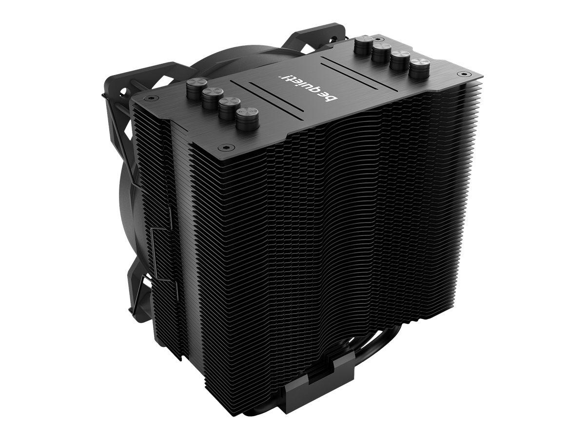 Be Quiet! Pure Rock 2 - Prozessor-Luftkühler - (für: AM3, LGA1155, AM3+, LGA1150, LGA1151, LGA2011-3 (Square ILM)