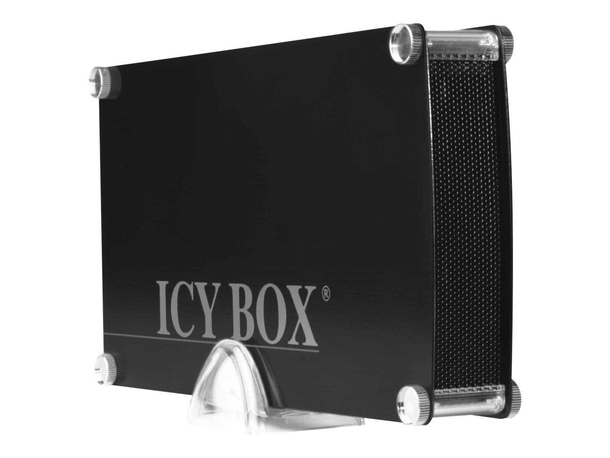"""ICY BOX ICY BOX IB-351StU3-B - Speichergehäuse mit Datenanzeige, Netzanzeige, Ein/Aus-Schalter - 3.5"""" (8.9 cm)"""