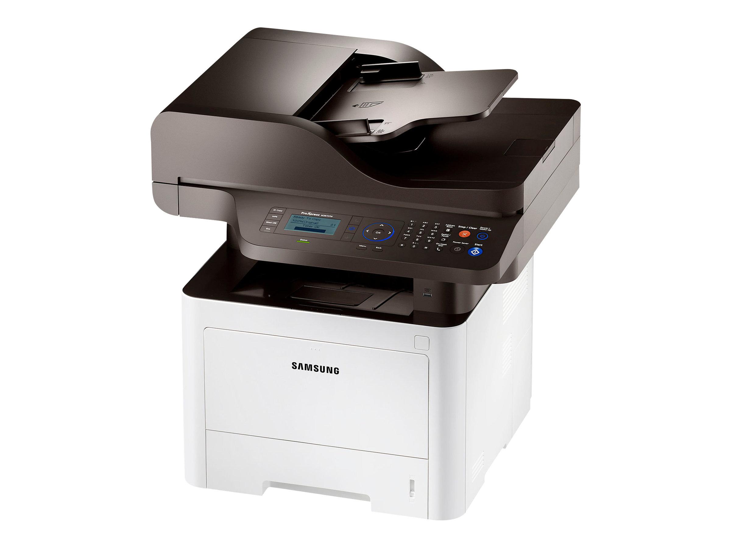 HP Samsung ProXpress SL-M3875FW - Multifunktionsdrucker - s/w - Laser - Legal (216 x 356 mm)