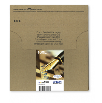 Epson 16XL Multipack Easy Mail Packaging - 4er-Pack - 32.4 ml