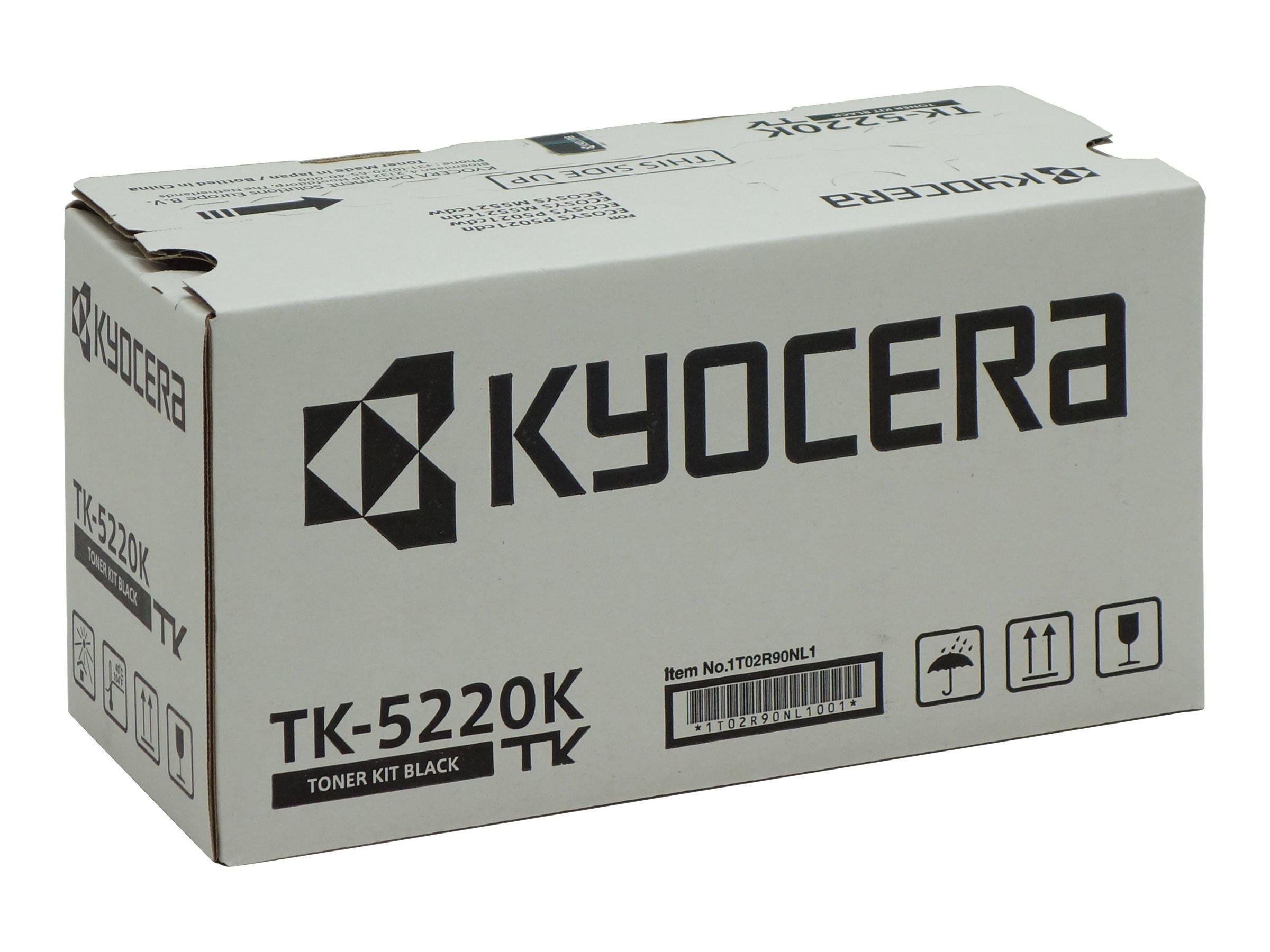 Kyocera TK 5220K - Schwarz - Original - Tonerpatrone
