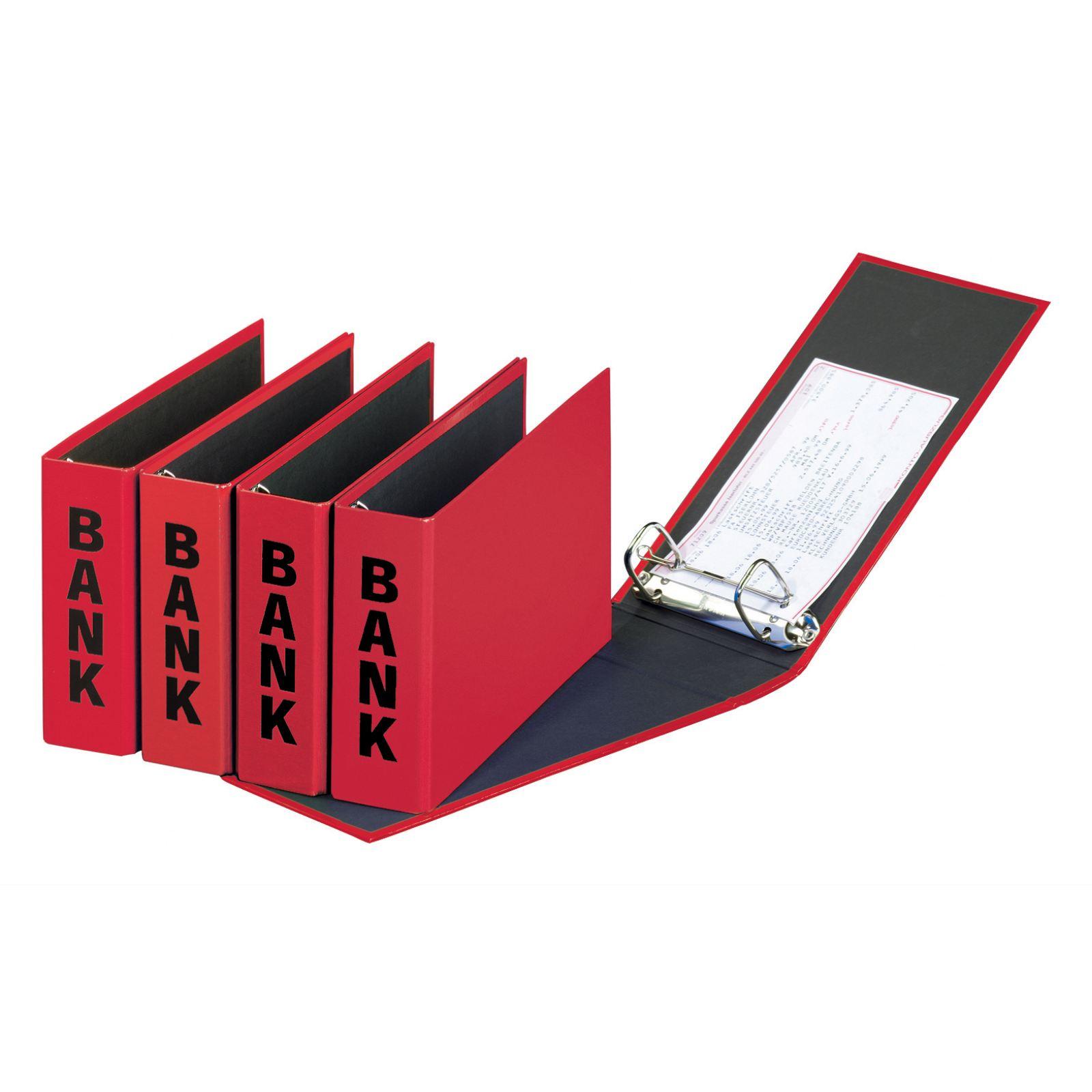 Pagna Bankordner 25x14cm Basic Colours Bubi rot