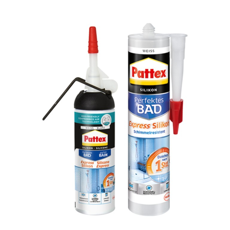 Pattex Silikon Dusche und Bad weiß 300ml