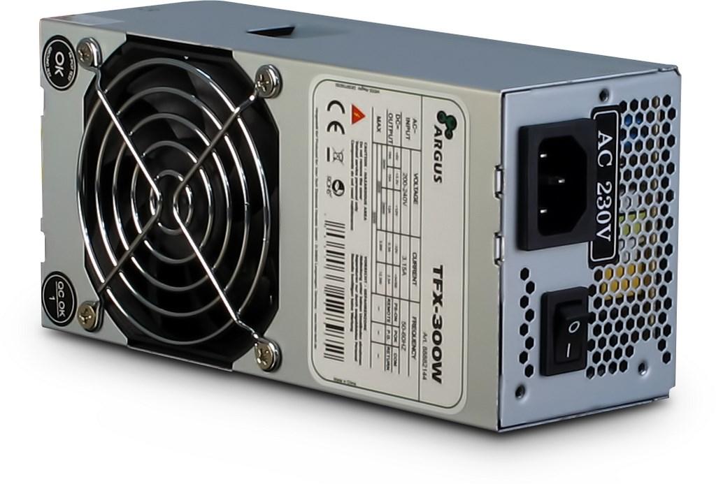 InterTech TFX300W 300 W 230 V Active 20+4 pin ATX TFX 8 cm