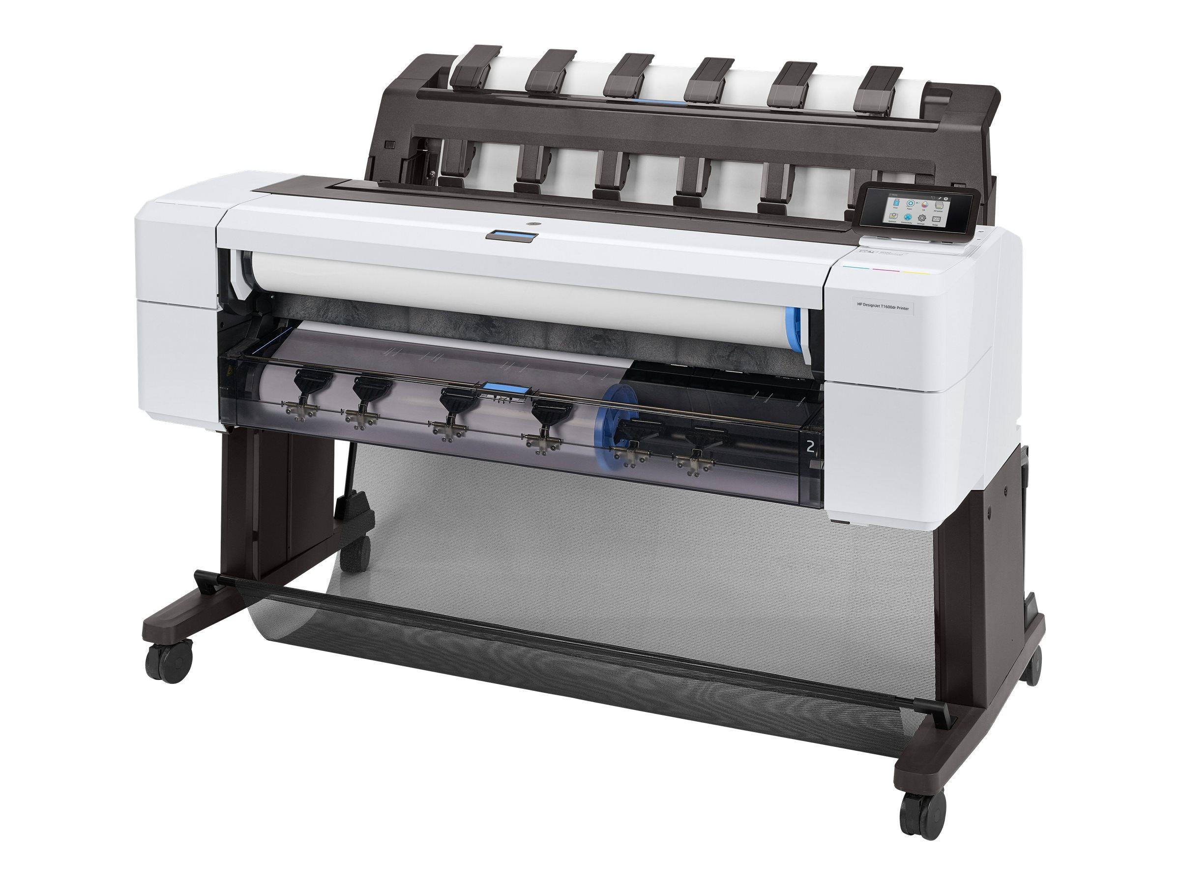 "HP DesignJet T1600dr - 914 mm (36"") Großformatdrucker - Farbe - Tintenstrahl - Rolle (91,4 cm x 91,4 m)"