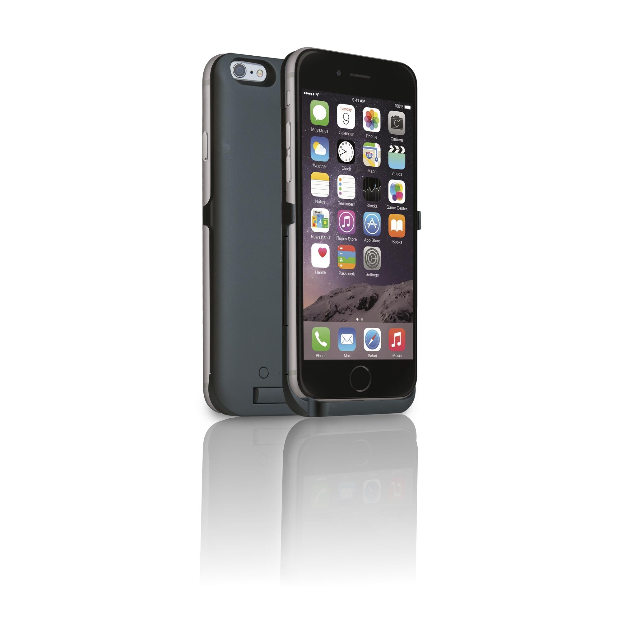 RealPower BP-4000 - Cover - Apple - iPhone 6 Plus - Schwarz
