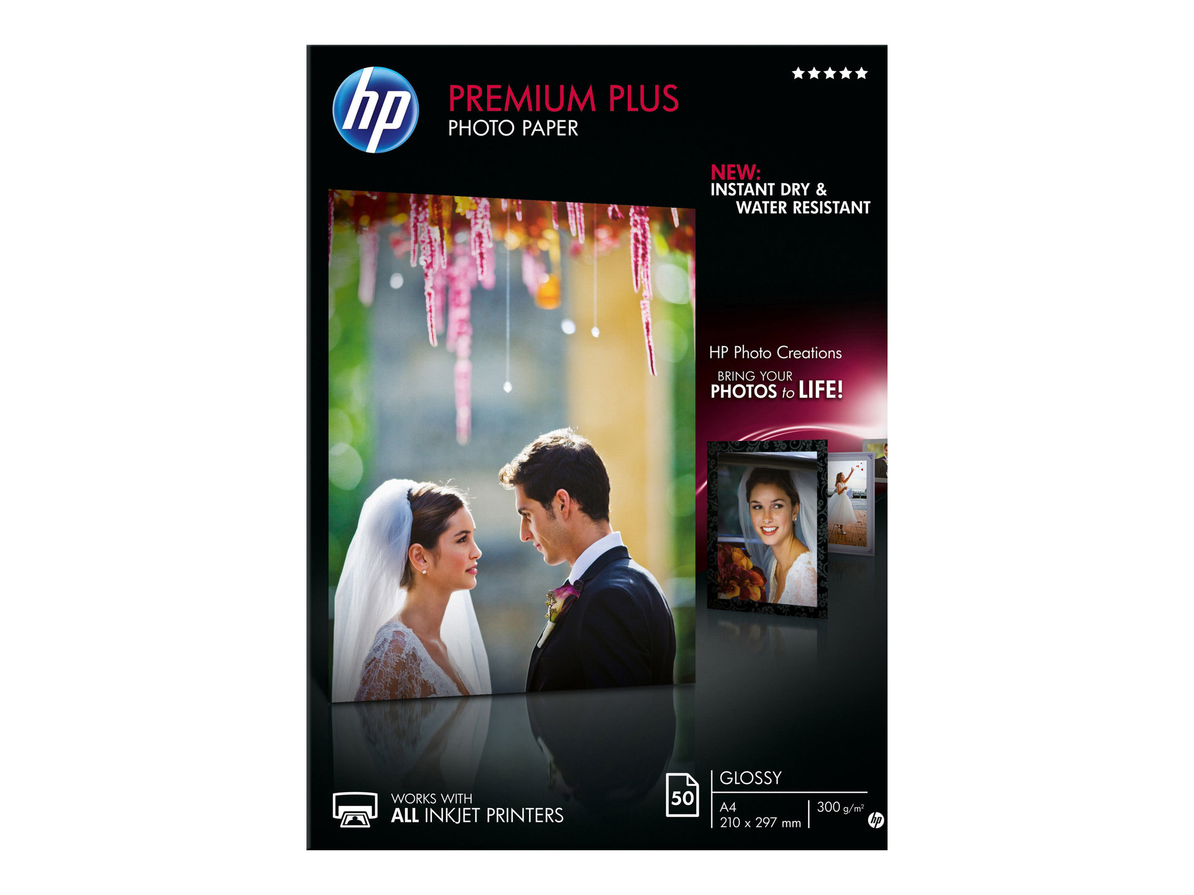 HP Premium Plus Photo Paper - Glänzend - A4 (210 x 297 mm)