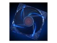 Xilence Gehäuselüfter - 120 mm - Blau, durchsichtig