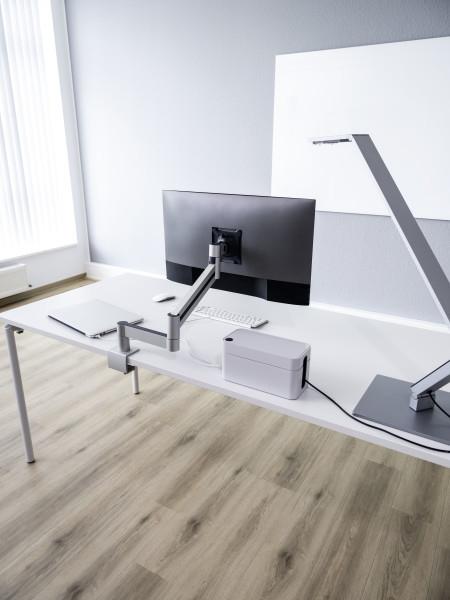 Durable 508323 - Klemme /Bolzen - 8 kg - 53,3 cm (21 Zoll) - 96,5 cm (38 Zoll) - 100 x 100 mm - Silber