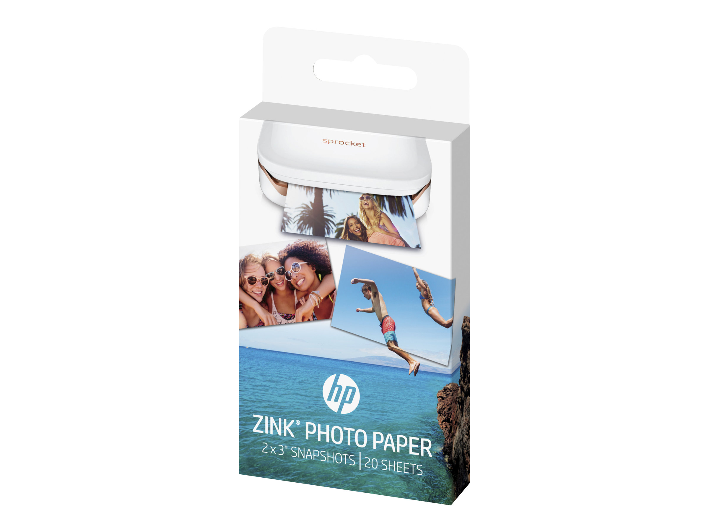 HP ZINK Sticky-Backed Photo Paper - Selbstklebend