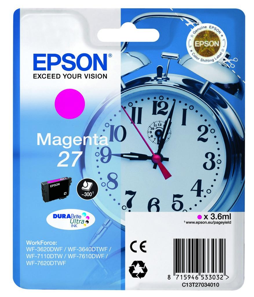 Epson 27 DURABrite Ultra Magenta Tintenpatrone