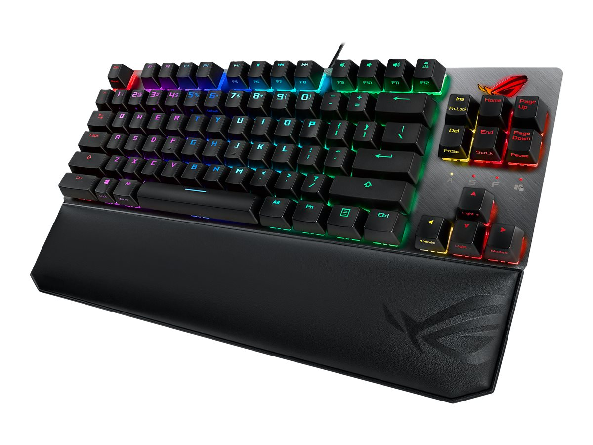 Vorschau: ASUS ROG Strix Scope TKL Deluxe - Tastatur - backlit