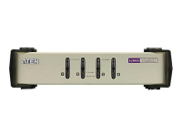 CS84U Tastatur/Video/Maus (KVM)-Switch Grau