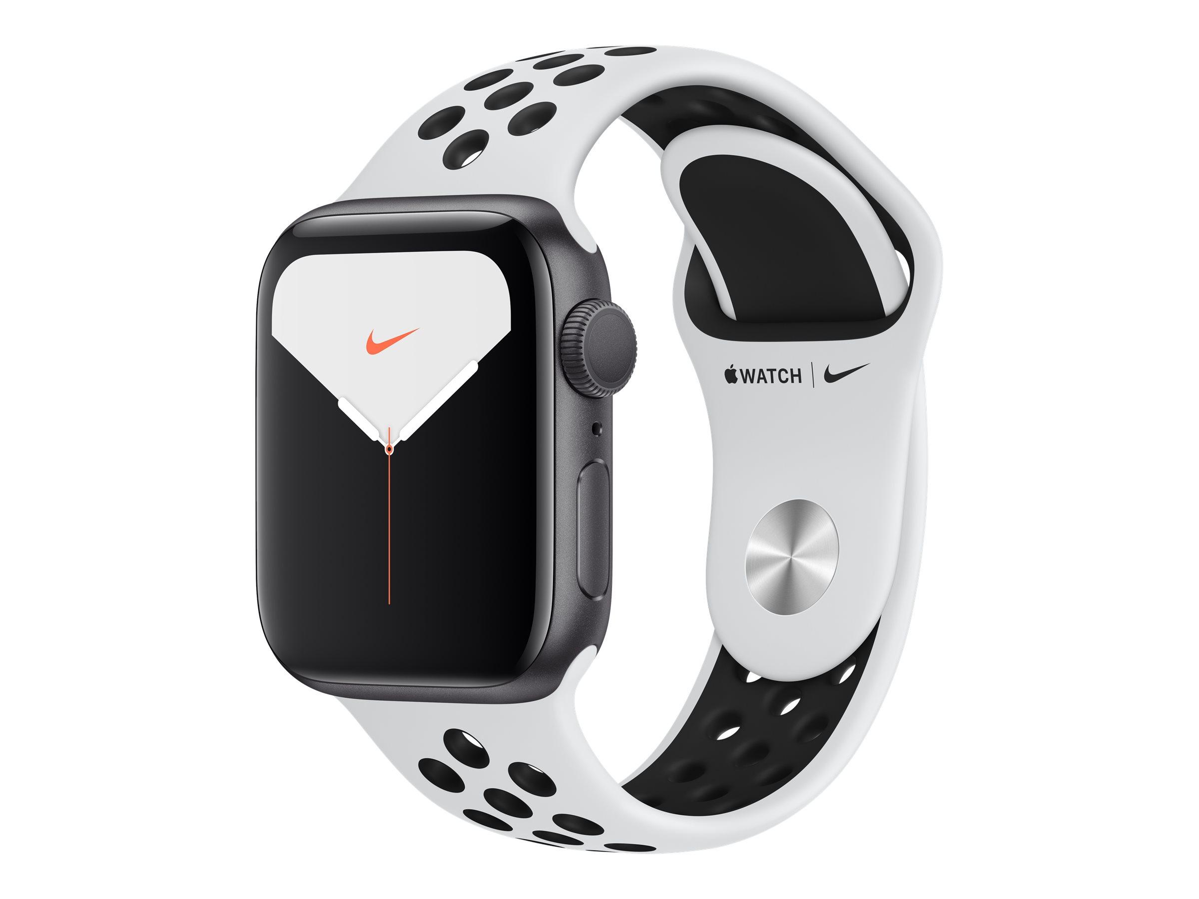 Apple Watch Nike Series 5 (GPS) - 40 mm - Aluminium, Silber