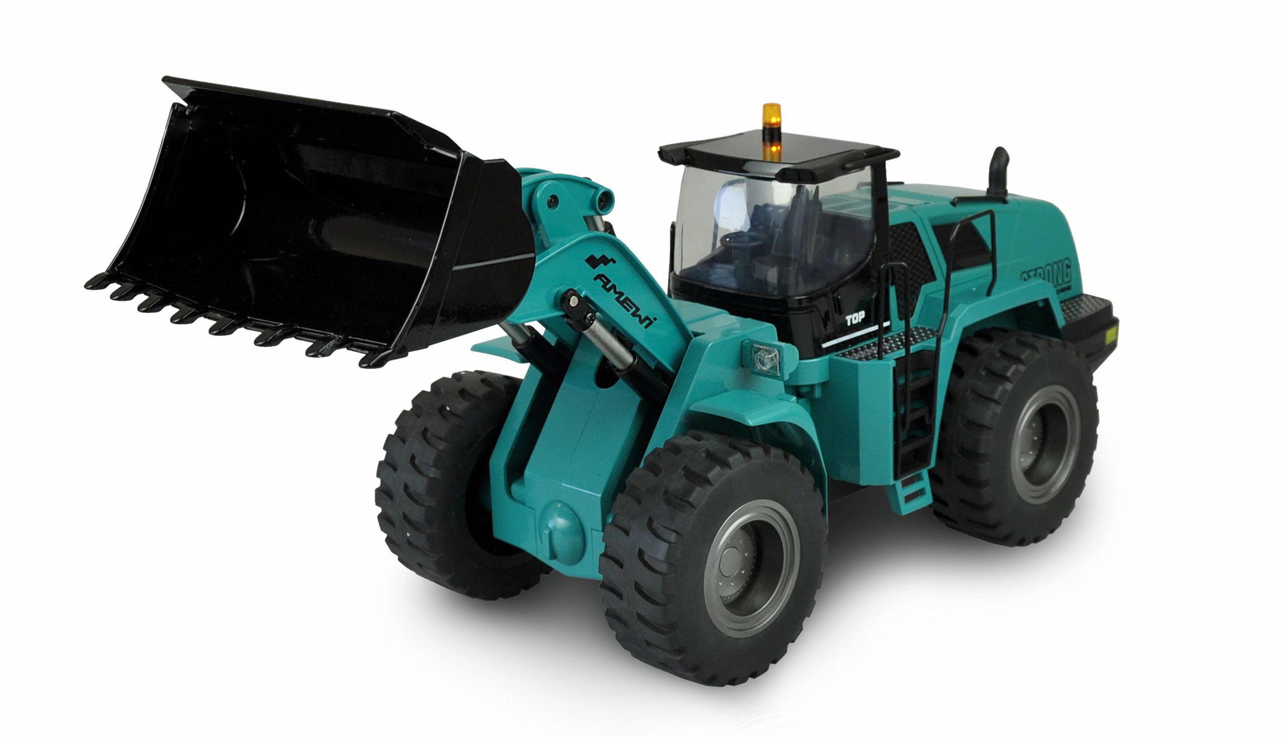 Vorschau: Amewi Radlader G484E - Traktor - 1:14 - Junge - 2000 mAh - 4,8 kg