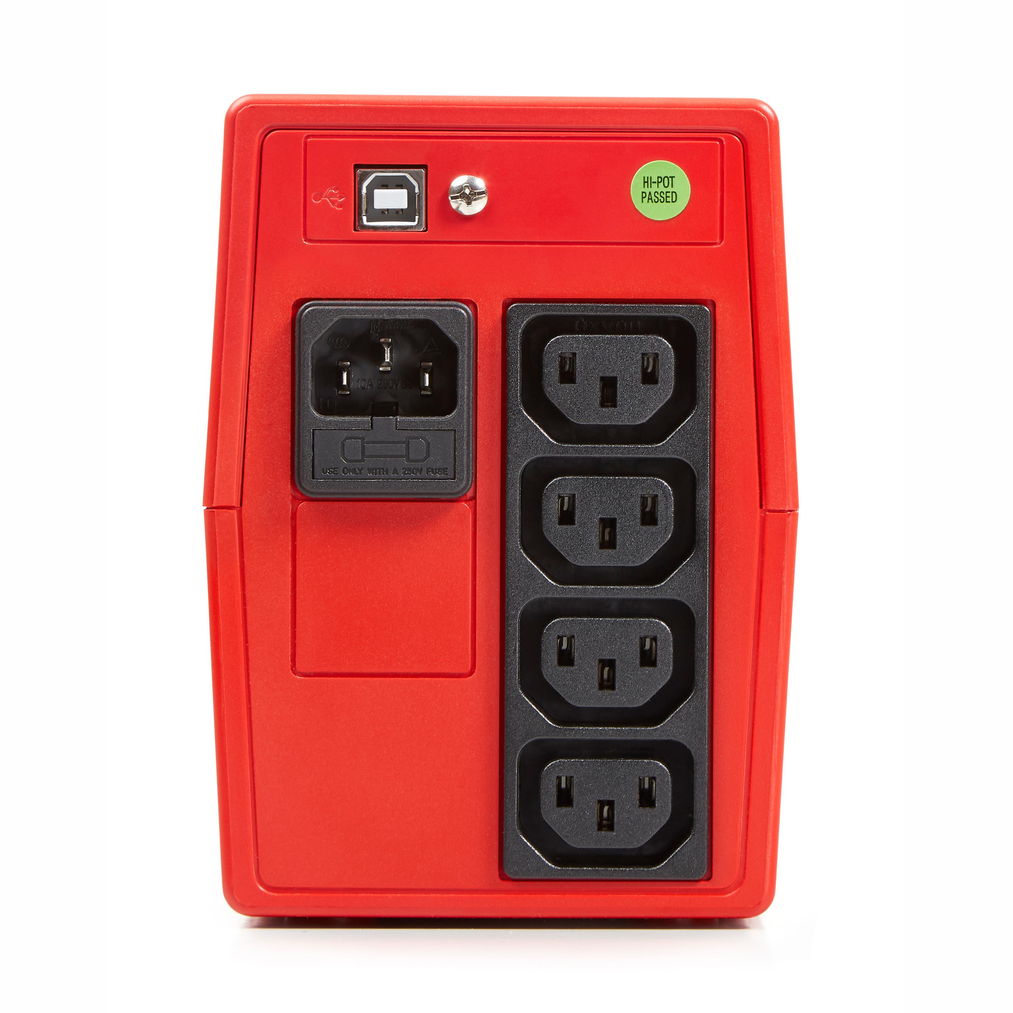 SALICRU USV SPS 900 ONE IEC, Line Int, 2 Plugs, 900VA/480W - (Offline-) USV - (Offline-) USV