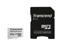 Hochbelastbare - Flash-Speicherkarte (SD-Adapter inbegriffen) - 64 GB