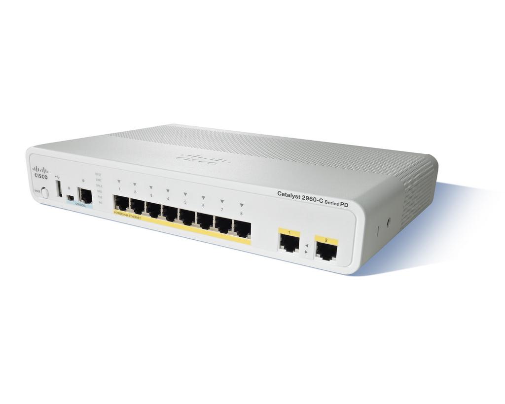 Cisco Catalyst 2960CPD-8PT-L Switch (WS-C2960CPD-8PT-L)