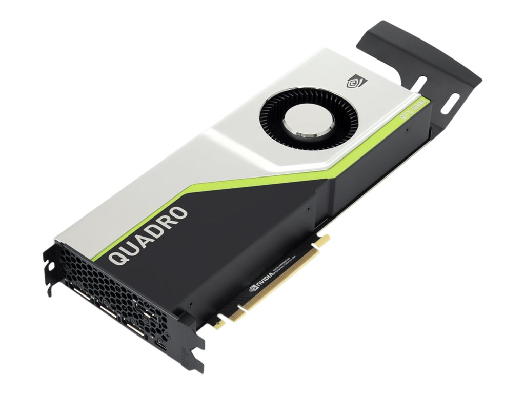 Lenovo NVIDIA Quadro RTX 8000 - Grafikkarten - Quadro RTX 8000 - 48 GB GDDR6 - PCIe 3.0 x16 - 4 x DisplayPort, USB-C - für ThinkStation P520 30BE (900 Watt)