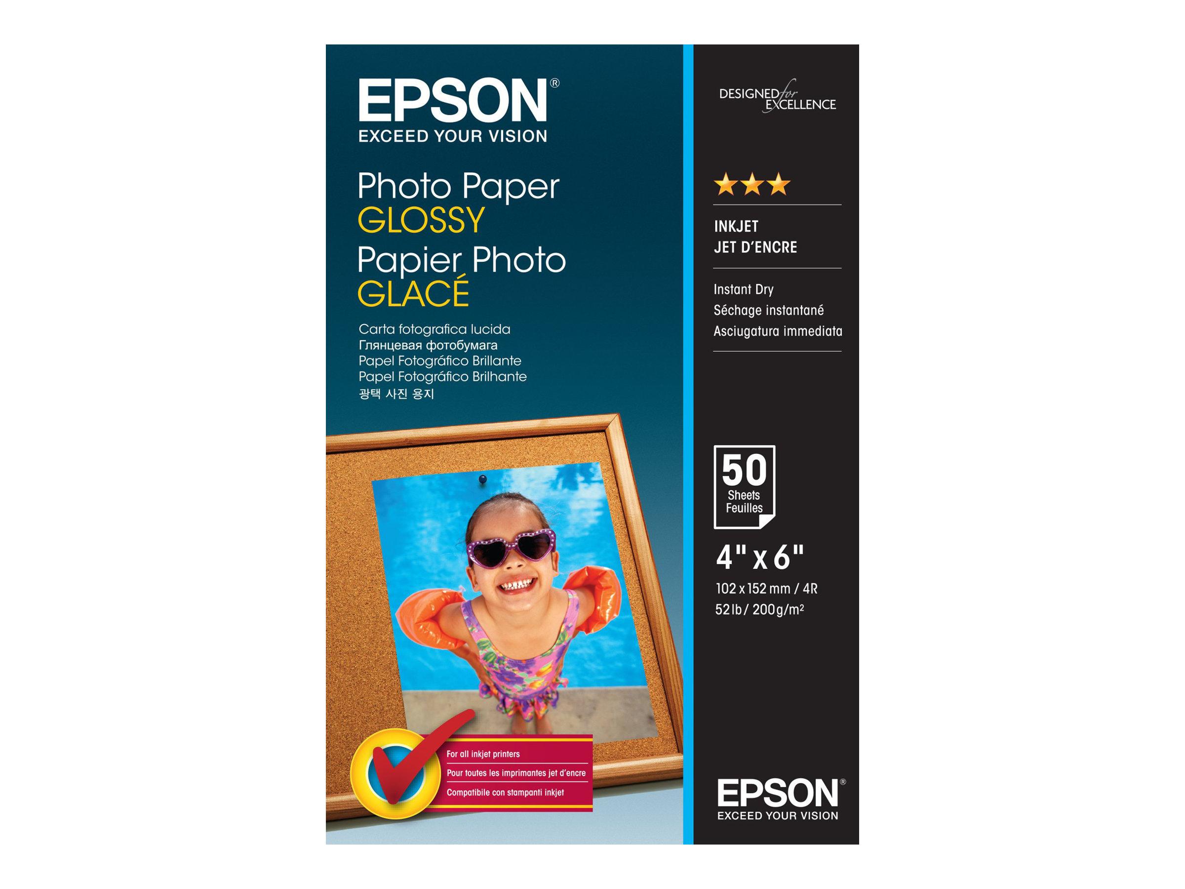 Epson Glänzend - 102 x 152 mm - 200 g/m² - 50 Blatt Fotopapier
