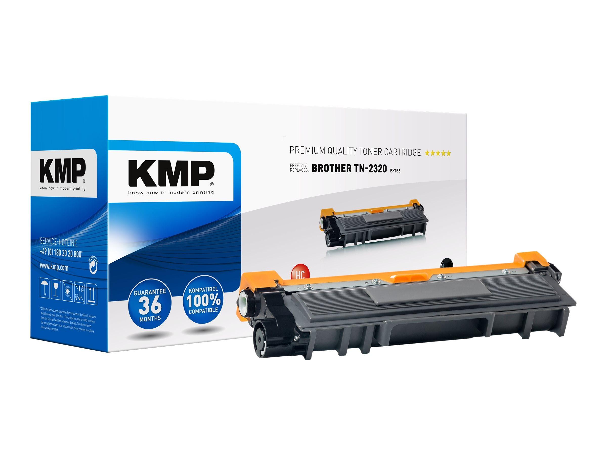 KMP B-T56 - Mit hoher Kapazität - Schwarz - kompatibel