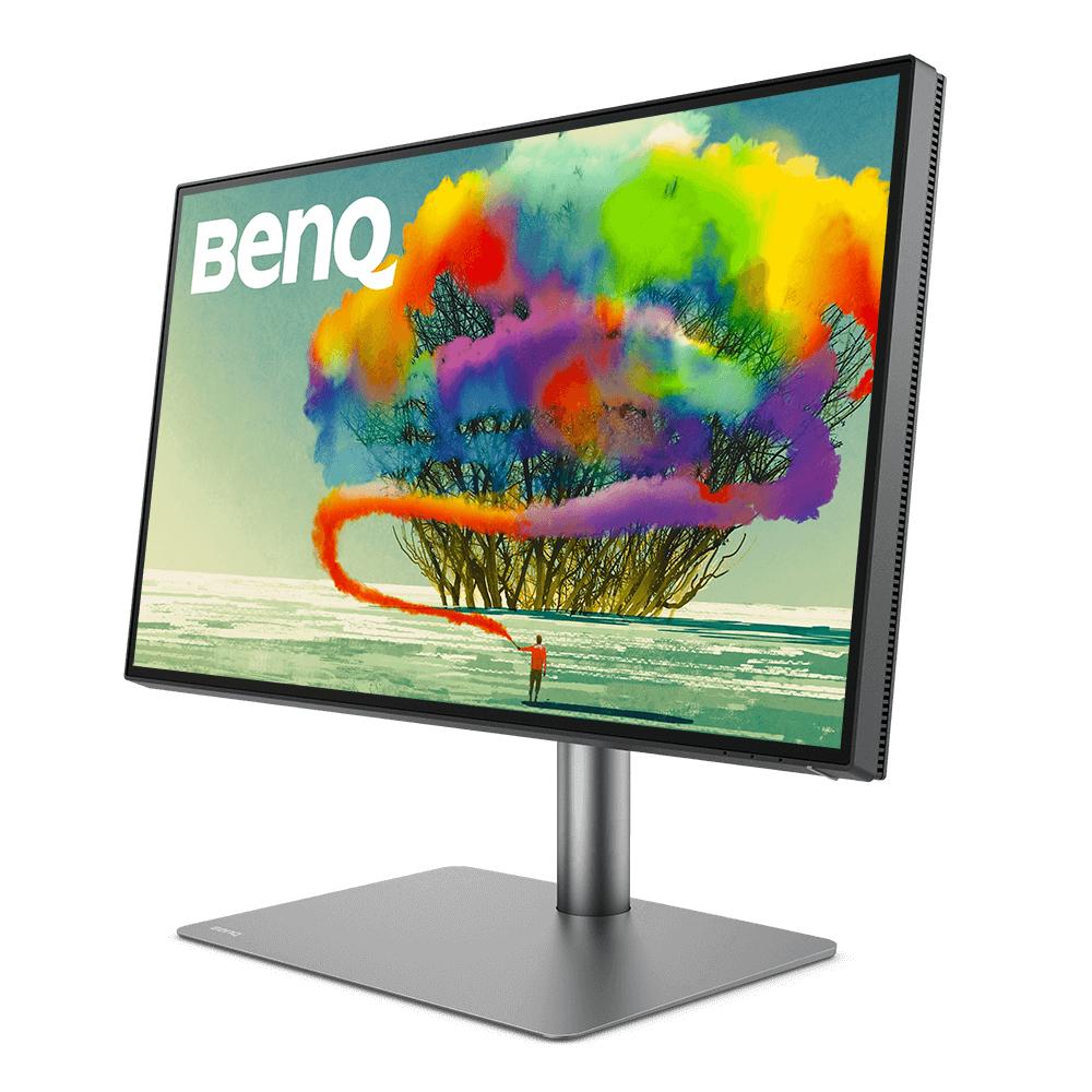 BenQ 68.6cm PD2725U 16 9 DP/HDMI/TB3 bk. lift/piv.spk.UHD - Flachbildschirm (TFT/LCD) - 68,6 cm