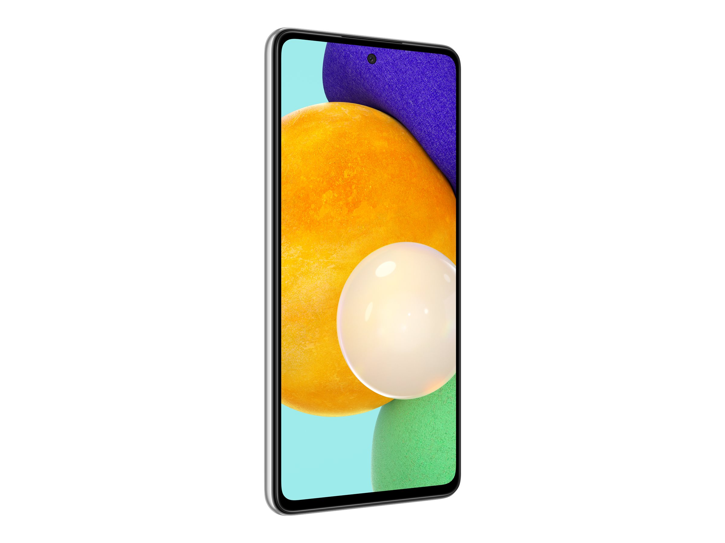 "Samsung Galaxy A52 5G - Smartphone - Dual-SIM - 5G NR - 128 GB - microSD slot - 6.5"" - 2400 x 1080 Pixel - Super AMOLED - RAM 6 GB (32 MP Vorderkamera)"